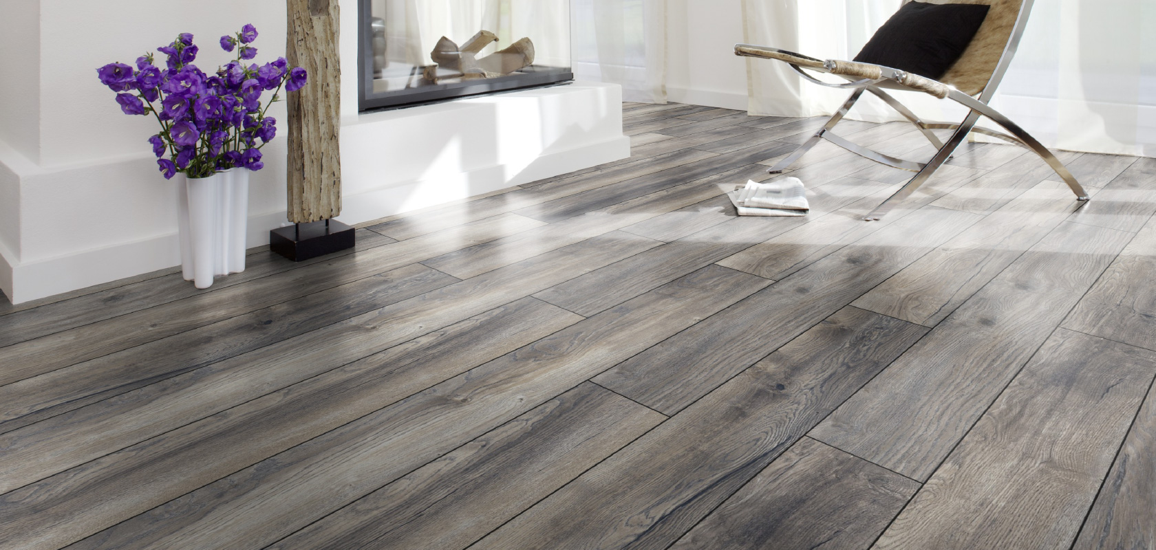 kronotex grey laminate flooring