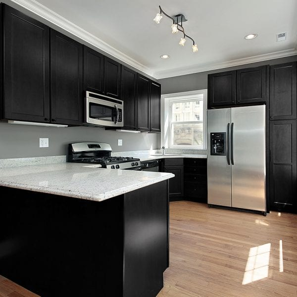 Black Deco Kitchen Scene