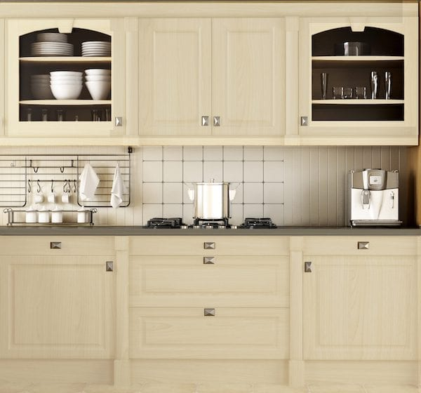 Euro Taupe Kitchen Scene