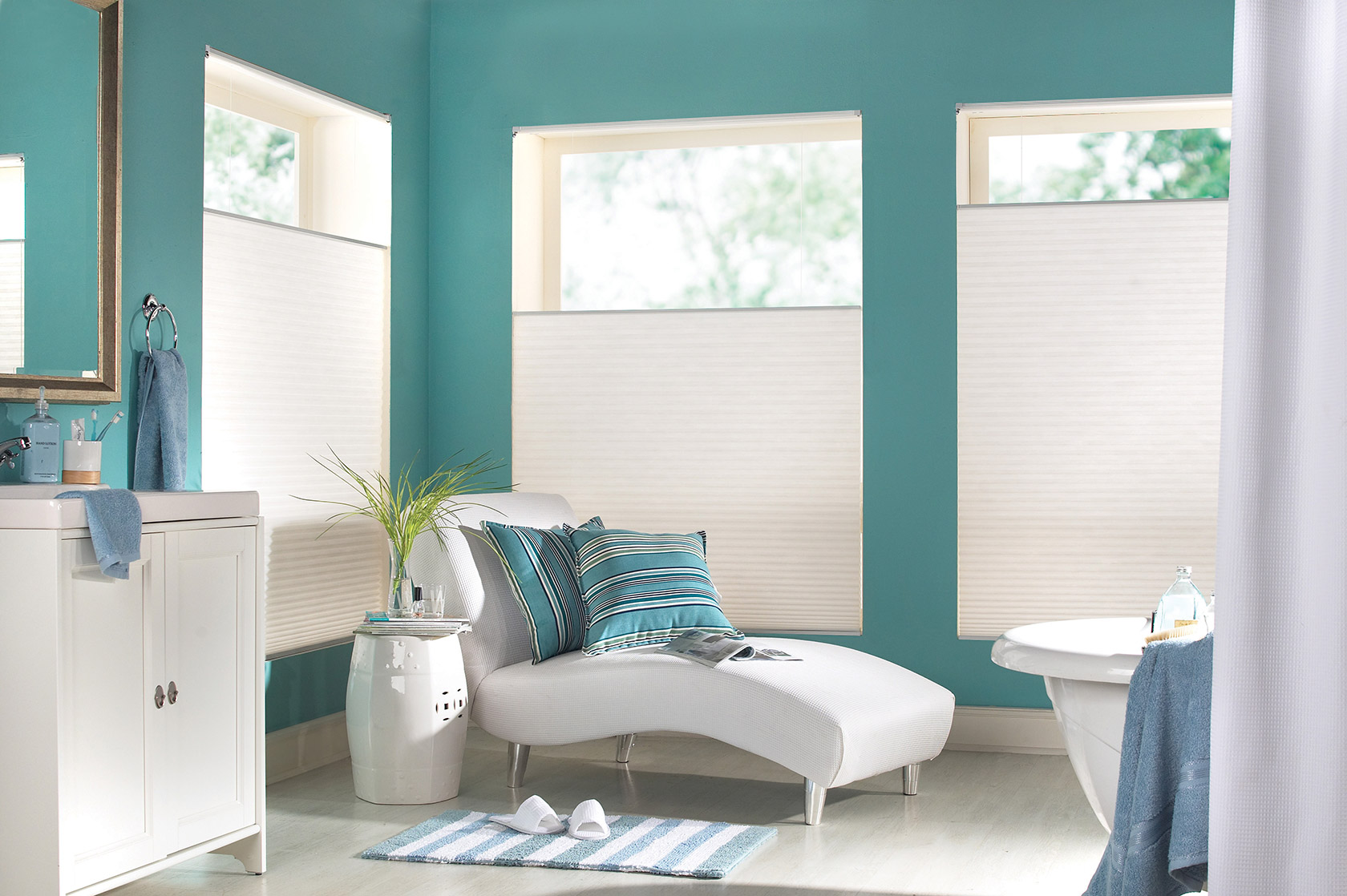 what are cellular shades made of