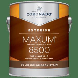 maxum exterior solid stain