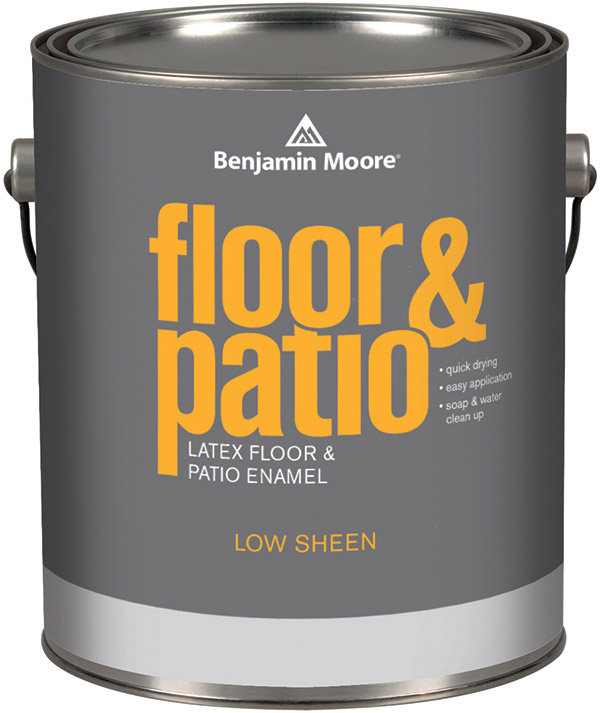Best Paint For Kitchen Cabinets Oil Or Latex: Benjamin Moore Floor & Patio Paint