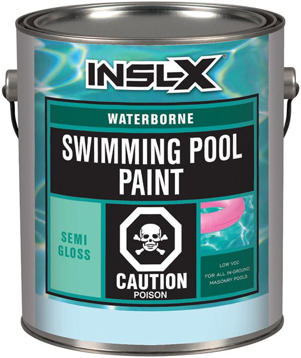 Insl X Waterborne Swimming Pool Paint Paintshop