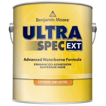 ultra spec exterior paint can