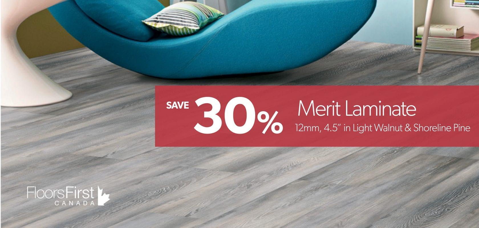 30% off Merit Laminate