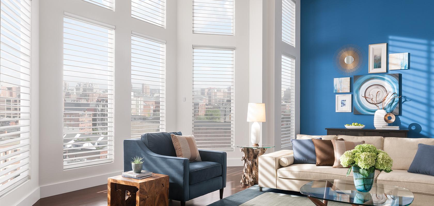room scene window blinds