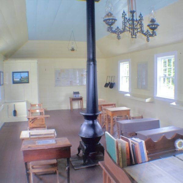 Bristol's Hope Schoolhouse - Interior