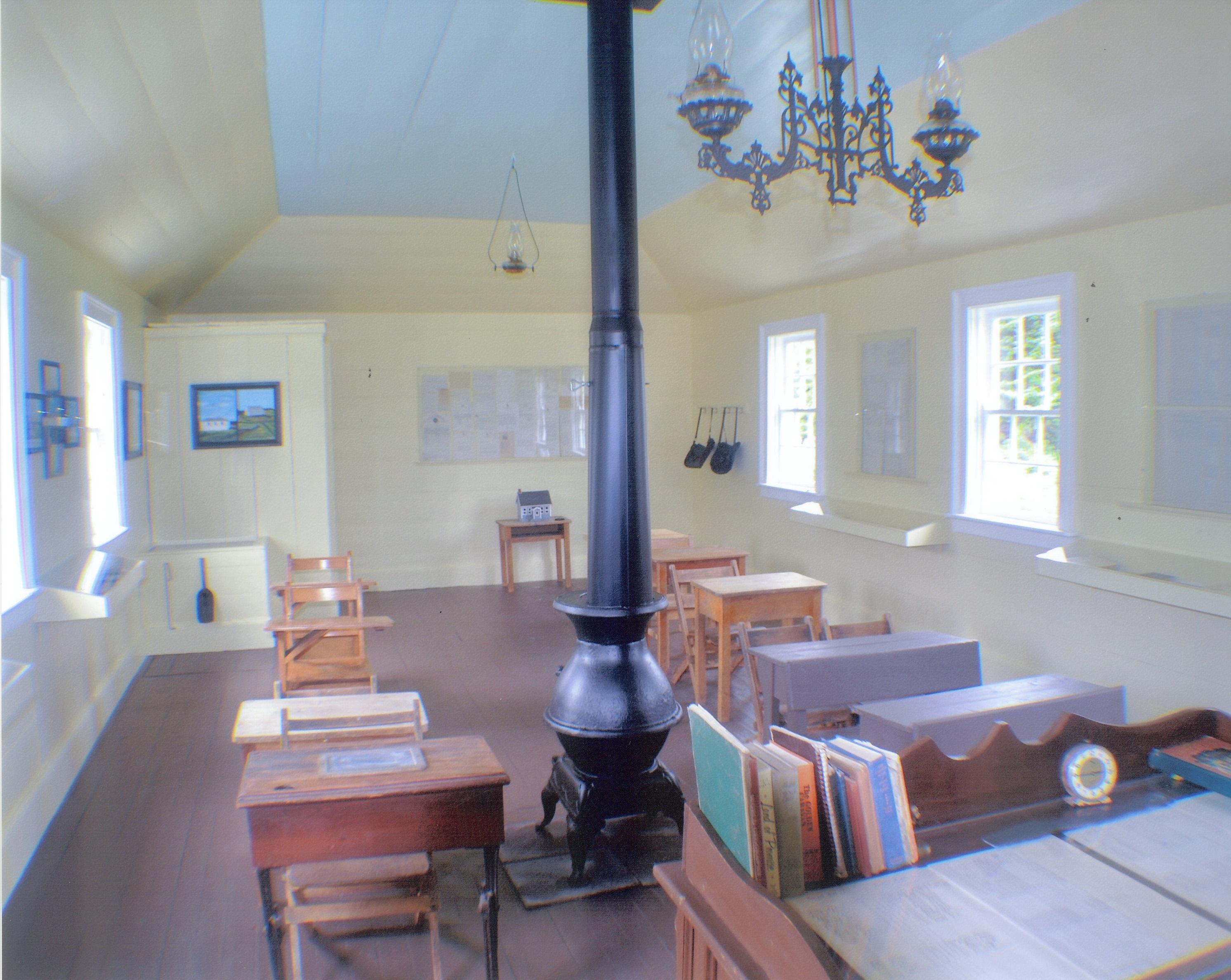 Bristol's Hope Schoolhouse - Interior