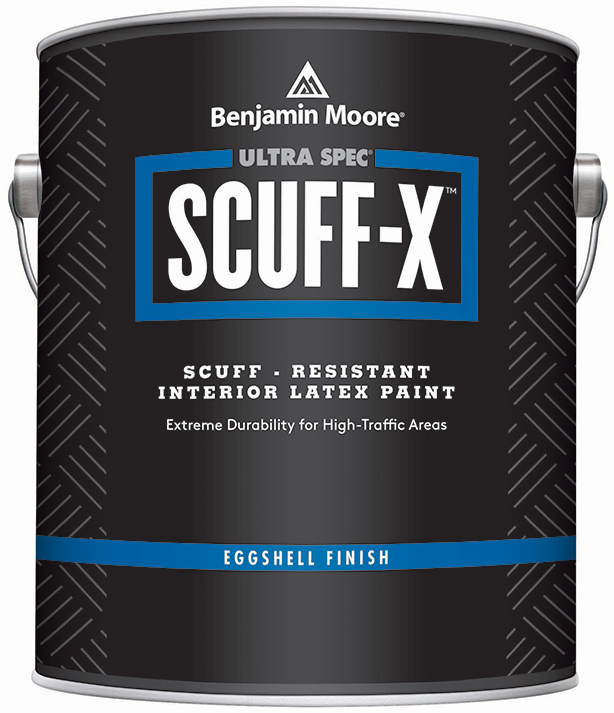 Benjamin Moore Introduces Scuff X Interior Paint
