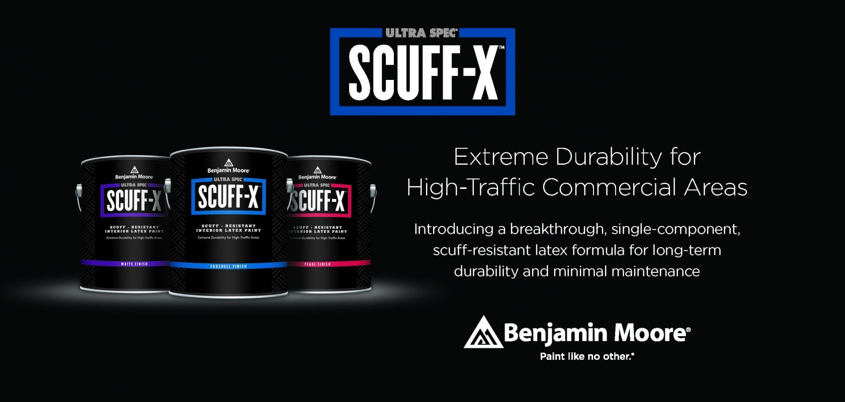 Introducing Scuff X By Benjamin Moore