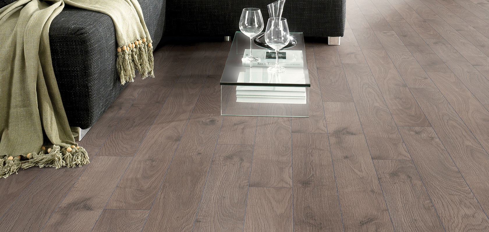 room scene featuring sandbanks oak flooring