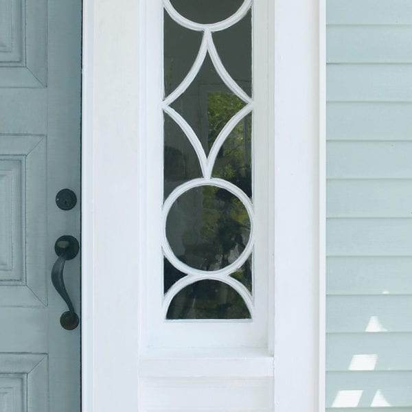 image of door and vinyl siding