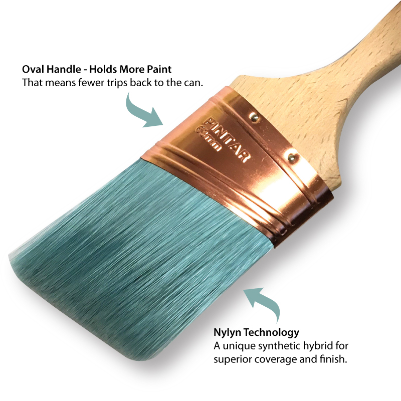 Silks Oval Angled Paint Brush