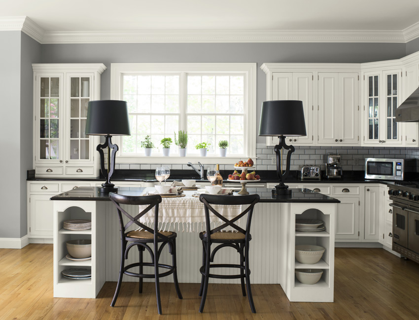Simply White OC-117 (Cabinets) Metropolitan (Wall)