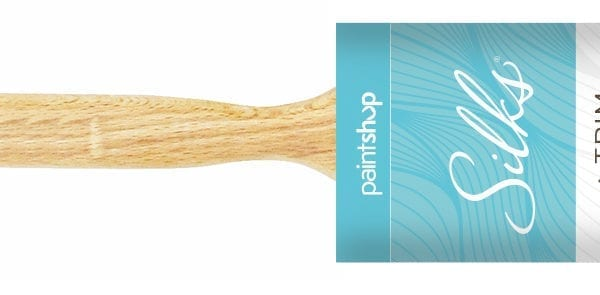 Silks Oval Angled Paint Brush