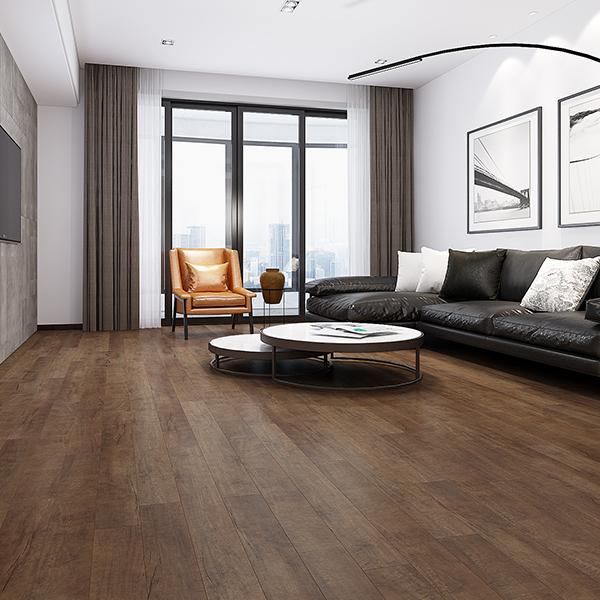 Concerto Laminate flooring Caruso Maple room scene