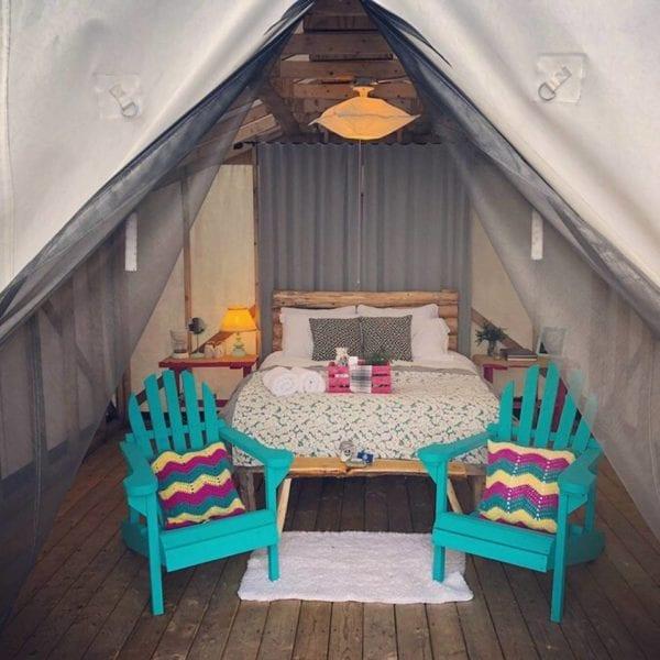 Colour, Pattern, Furniture - 'OME Sweet 'OME - Rabbit Tent, Burlington, NL