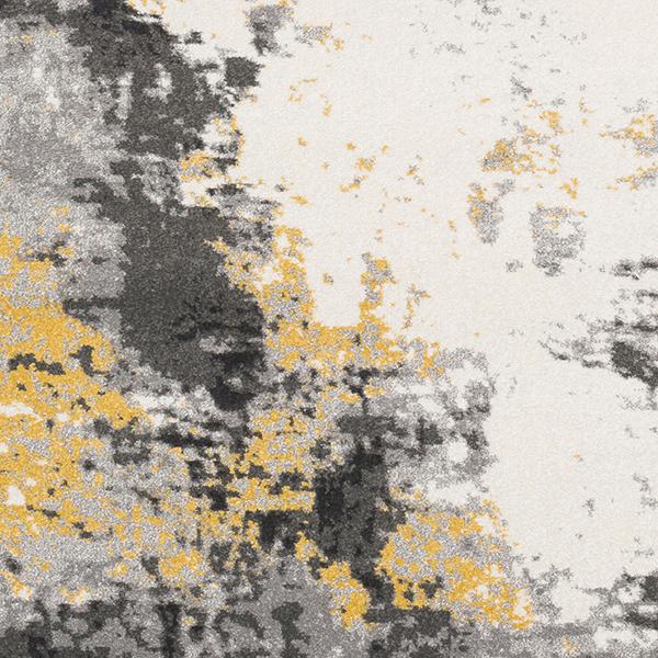 Surya Rug in Greys, Beige & Yellow (PEI-1011)