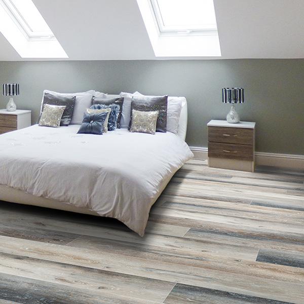edgewater waterproof plank flooring room scene