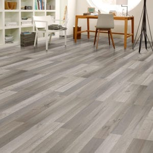 grey laminate flooring room scene