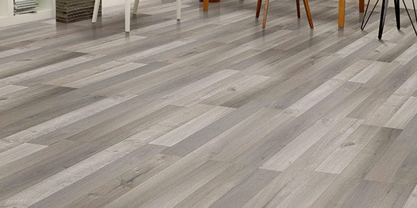 grey laminate flooring room scene