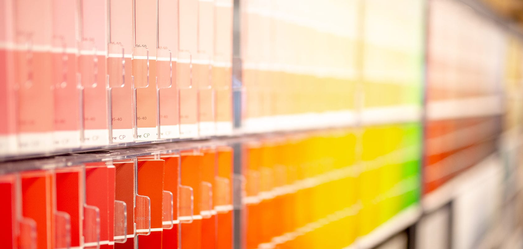 image of paint color chips