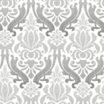 grey nouveau damask swatch