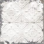 vintage tin tile wallpaper swatch