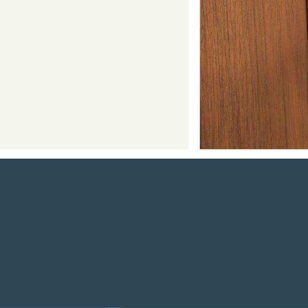 Wood Siding Fav Colour Combo:Siding: Gentleman's Gray 2062-20Main Trim: White Dove OC-17Front Door Colour Splash: Stain in Arborcoat Translucent Stain in Teak