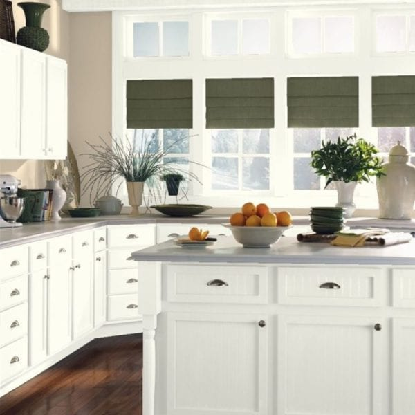 Tip: Painting kitchen cabinets takes time and patience but worth the effort and nominal expense!