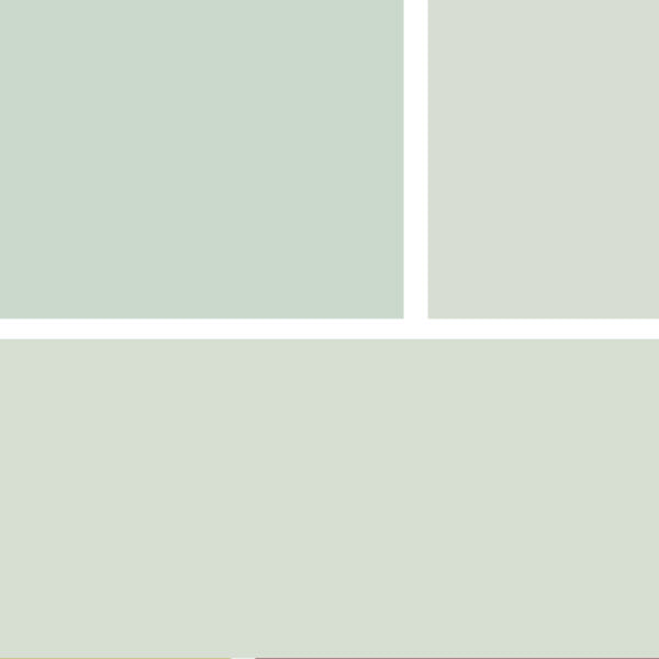 Wall Colors: Common are soft grays: Barren Plain 2111-60; Stonington Gray HC-170; Abalone 2108-60