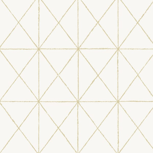 New Trends: Suggest for a Change: Use a subtle new pattern for your headboard wall: Peel & Stick wallpaper: Pattern: White & Gold Get In Line NUS3577