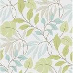 meadow blue green wallpaper swatch