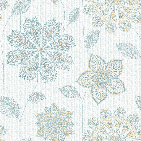 gypsy floral wallpaper swatch