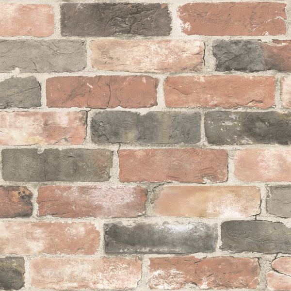 newport reclaimed brick wallpaper swatch