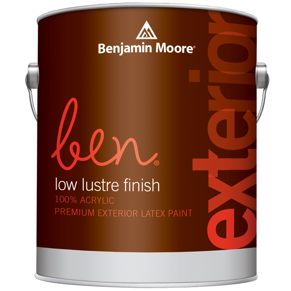 ben exterior paint can