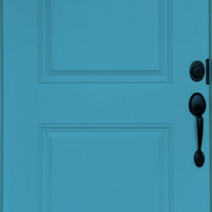 cool blue door paint