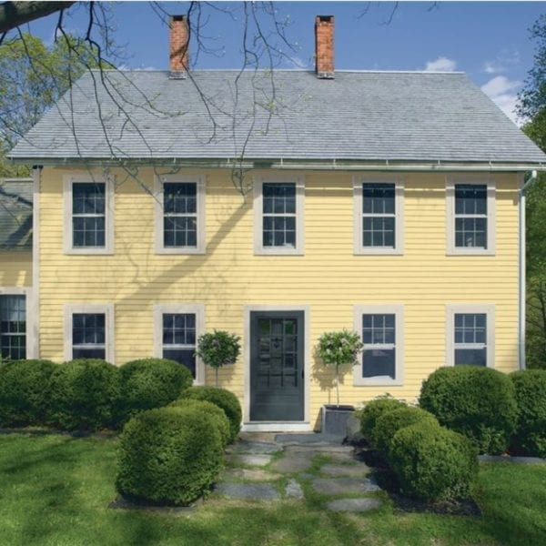 hawthorne yellow house