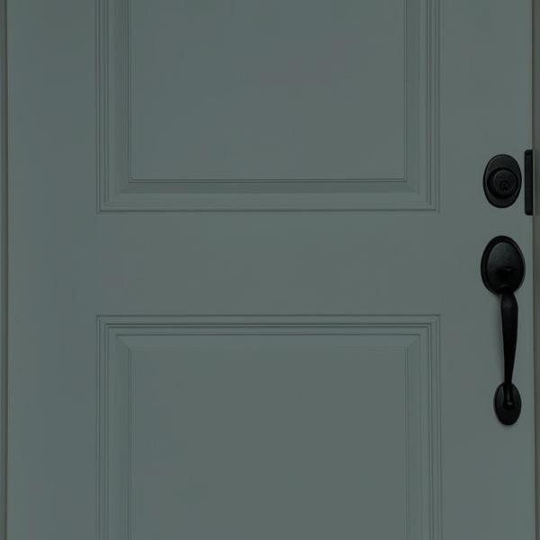 knoxville gray door paint