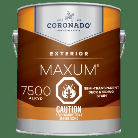 maxum semi-transparent stain can