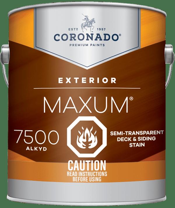 maxum semi-transparent stain can 2
