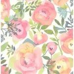 peachy keen wallpaper swatch